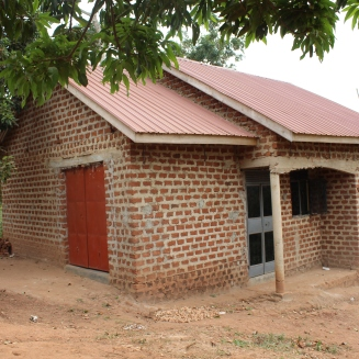 The home Mercy built for Hasifah and her family.