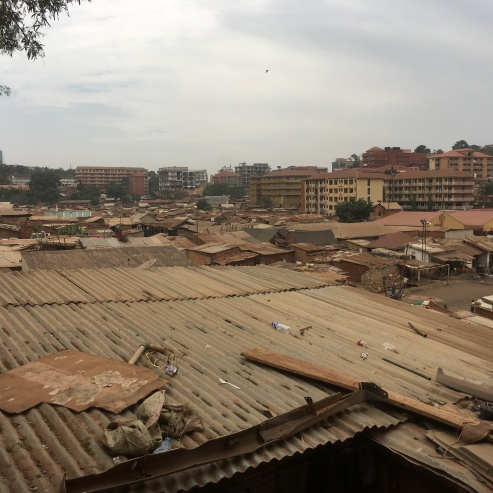 An overlook of Katanga, the slums where Hasifah and her family first lived.