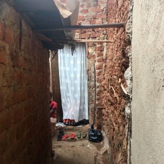 Hasifah's old home in Katanga, the slums.