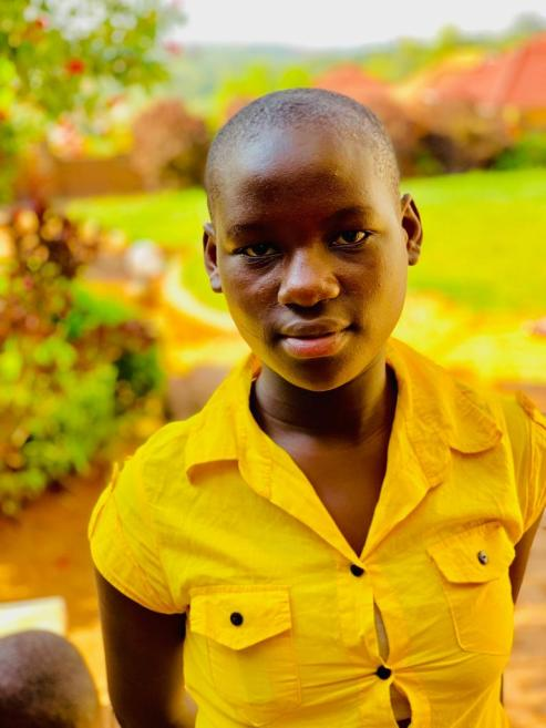 Quruthum Kiiza is 11, currently in Primary 5 and wants to be a doctor.